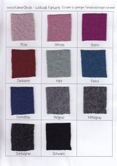 Wollwalkfarben